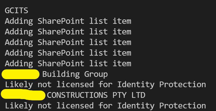 Syncing Azure AD Risk Events with SharePoint